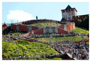 Нижний Новгород - Чкаловская лестница