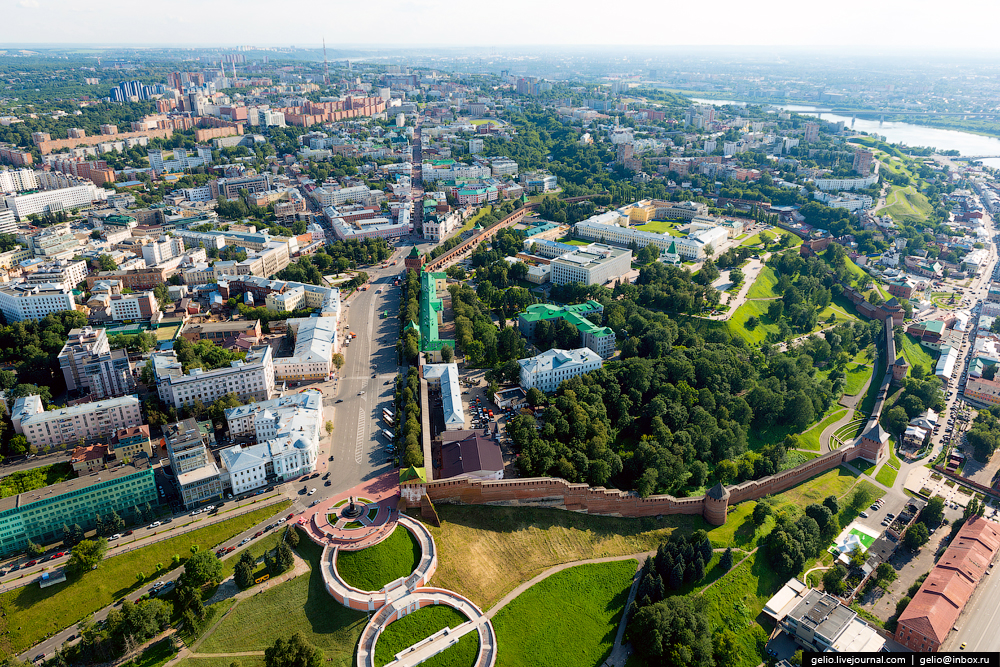 Nizhny Novgorod Birds Eye View